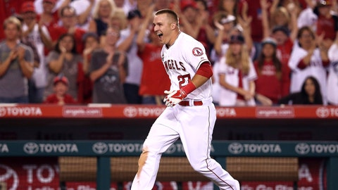 Mike Trout, outfield