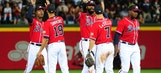 Freeman, Santana help Braves win 8th straight, defeat D-backs