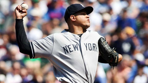19. Dellin Betances, SP, New York Yankees (5-2, 1.53 ERA, 7 SV, 77 SO, 47 IP)