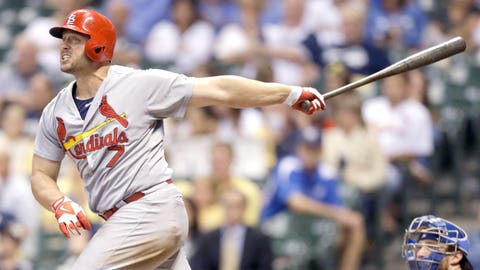 July 11: Cardinals 7, Brewers 6