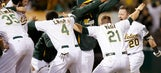 Donaldson's walk-off homer in 9th rallies A's past O's