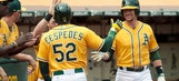 Orioles' Adam Jones loses track of outs; A's Cespedes strolls home