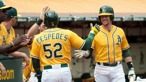 1. Oakland Athletics