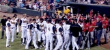Minor league game erupts in not one, but two epic bench-clearing brawls
