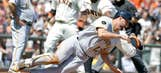 Giants turn walk into double play against Pirates