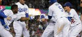 Dodgers top Angels 5-4 on 9th-inning play at plate