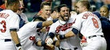 Aviles' walk-off homer in 11th lifts Indians over Orioles 2-1