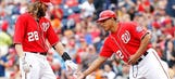 Nationals continue to baffle Lincecum, defeat Giants 6-2