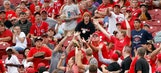 Want a foul ball? Don't leave it to chance — use an app