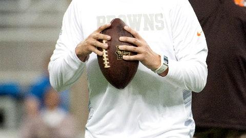 Brian Hoyer, QB, Browns