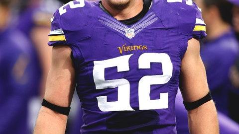 Chad Greenway, LB, Vikings