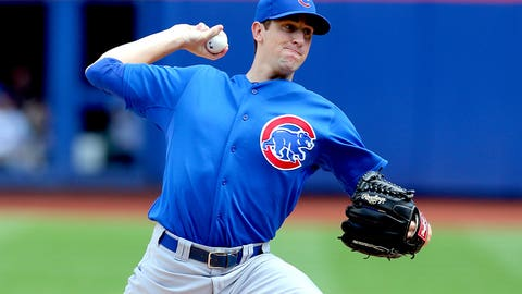 August NL Rookie of the Month: Kyle Hendricks, Cubs