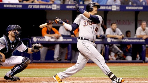 August AL Player of the Month: Victor Martinez, Tigers