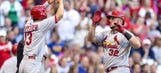 Adams, Taveras homers lead Cards past Brewers, up Central lead to 4