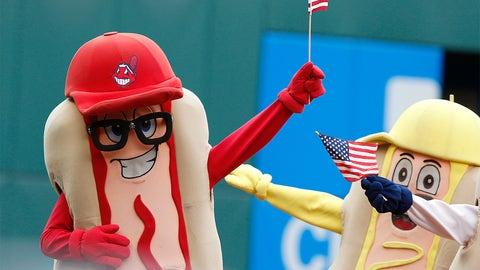 Hot dogging it