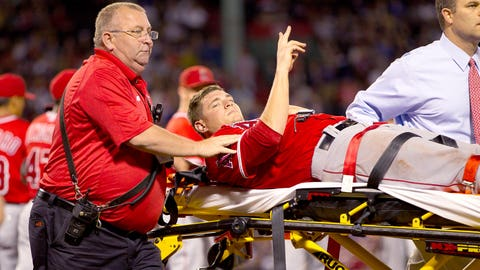 INJURIES hit the pitching staff hard, especially for the playoffs