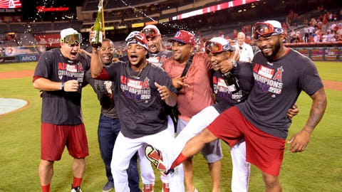 POSTSEASON APPEARANCE The Angels made the playoffs for the first time since 2009