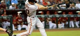 Giants snap tie in 9th, beat Arizona to narrow gap in NL West
