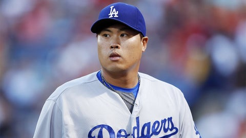 May 20 - Hyun-jin Ryu becomes second Dodger starter out for season