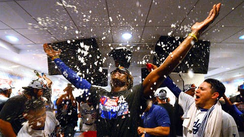 NL West champions: Los Angeles Dodgers