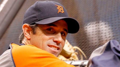 Brad Ausmus, manager, Tigers