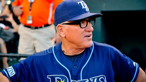 Joe Maddon, manager, Rays