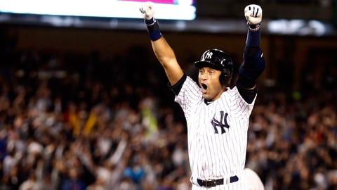 September runner-up: Sept. 27 -- Derek Jeter leaves Yankee Stadium in Jeter-like fashion
