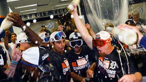 AL Central champions: Detroit Tigers