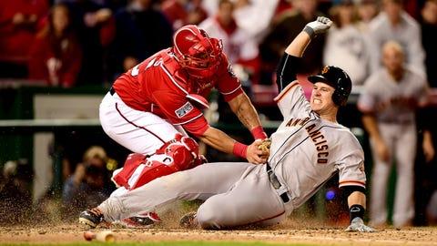 Catcher: Wilson Ramos, Nationals; Travis d'Arnaud, Mets