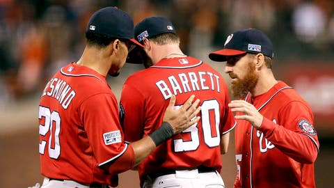 Low: Bullpen blunder costs Nats big in NLDS (Oct. 7, 2014)