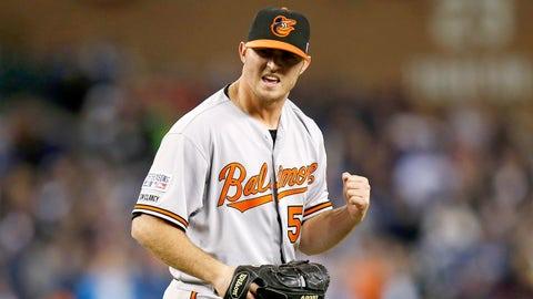 22. Zach Britton, RP, Baltimore Orioles (1.72 ERA, 23 SV, 41 SO, 36.2 IP)