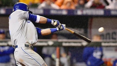 No. 4: ALCS Game 1, Oct. 10 at Baltimore -- Royals 8, Orioles 6