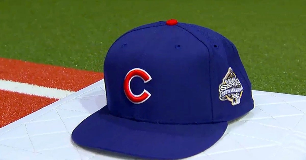 FOX Sports  Karros unveils Cubs  2003 World Series hat  91d99950896