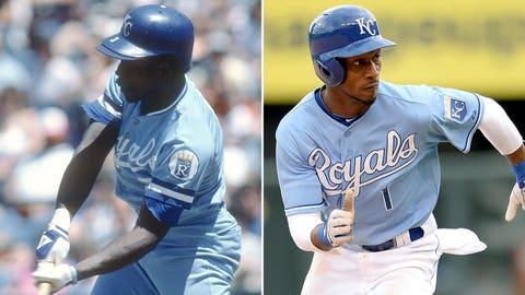Utility/ninth-inning spark: Jorge Orta (1985) & Jarrod Dyson (2014)