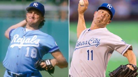 SP 3: Bret Saberhagen (1985) & Jeremy Guthrie (2014)
