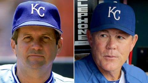 Managers: Dick Howser (1985) & Ned Yost (2014)