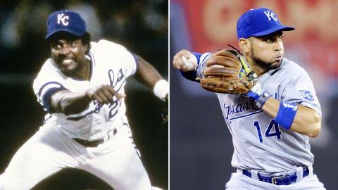 2B: Frank White (1985) & Omar Infante (2014)