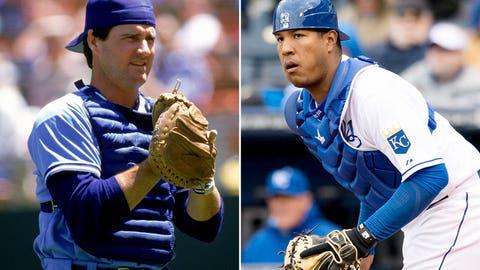 C: Jim Sundberg (1985) & Salvador Perez (2014)