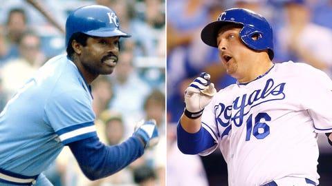 DH: Hal McRae (1985) & Billy Butler (2014)