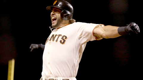 No. 9: 'The Beast' – Mike Morse, Outfielder, Giants