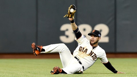No. 8: 'White Shark' – Gregor Blanco, Outfielder, Giants