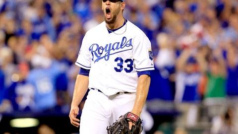No. 7: 'Big Game James' – James Shields, Pitcher, Royals