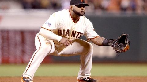 No. 3: 'Kung Fu Panda' – Pablo Sandoval, Third Baseman, Giants