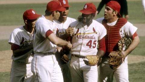 1967: Bob Gibson delivers for the Cardinals