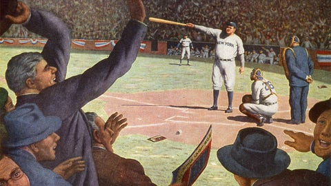 Babe Ruth calls his shot