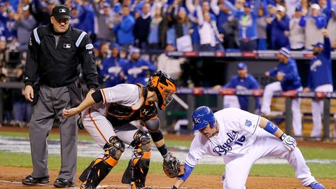 Game 7 around the bases