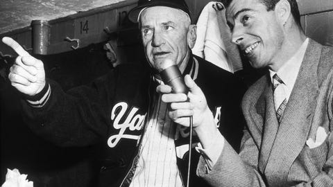 Casey Stengel — 7 titles