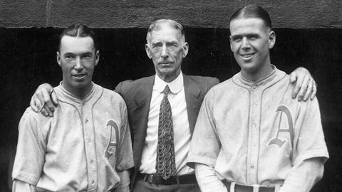Connie Mack — 5 titles