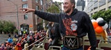 Check out the best shots from the Giants' World Series parade