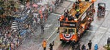Giants Hall of Famer McCovey attends victory parade